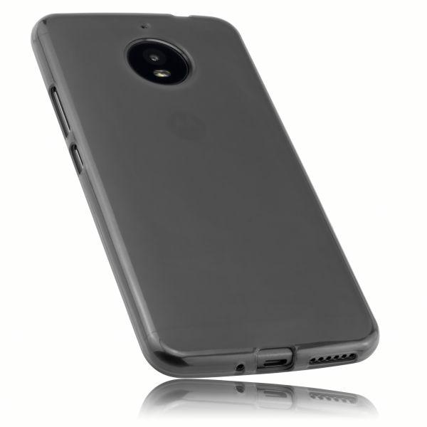 TPU Hülle schwarz transparent für Motorola Moto E4 Plus