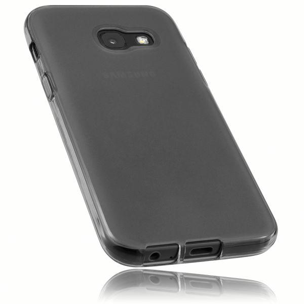 TPU Hülle schwarz transparent für Samsung Galaxy A3 (2017)