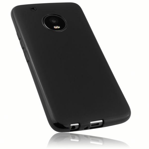 TPU Hülle schwarz für Motorola Moto G5 Plus