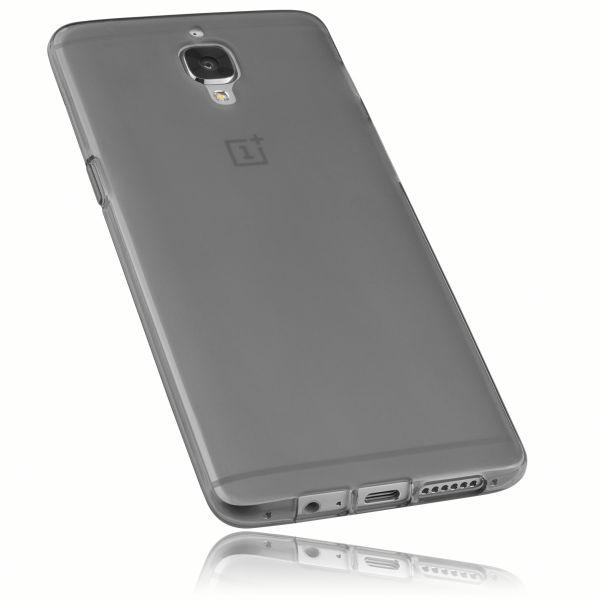 TPU Hülle schwarz transparent für OnePlus 3 / 3t