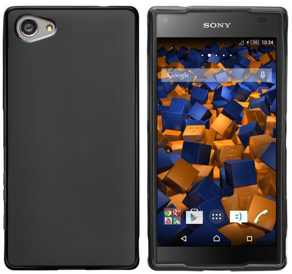 TPU Hülle schwarz für Sony Xperia Z5 Compact