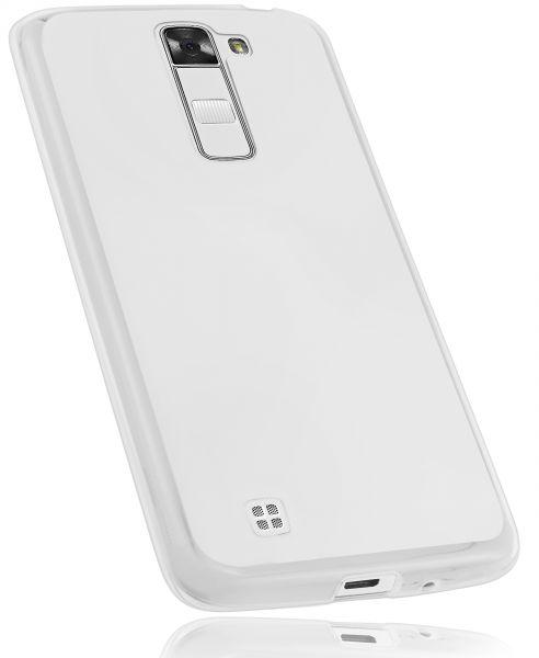 TPU Hülle weiß transparent für LG K7