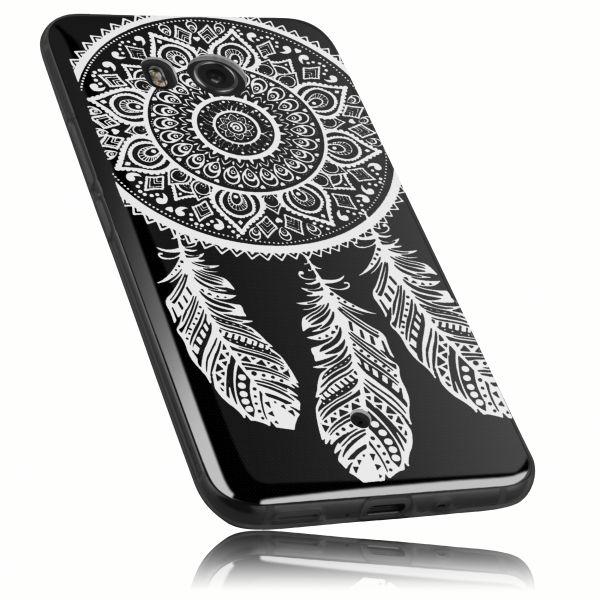 TPU Hülle transparent Motiv Traumfänger für HTC U11