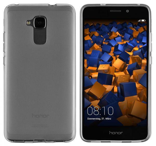 TPU Hülle schwarz transparent für Huawei Honor 5C