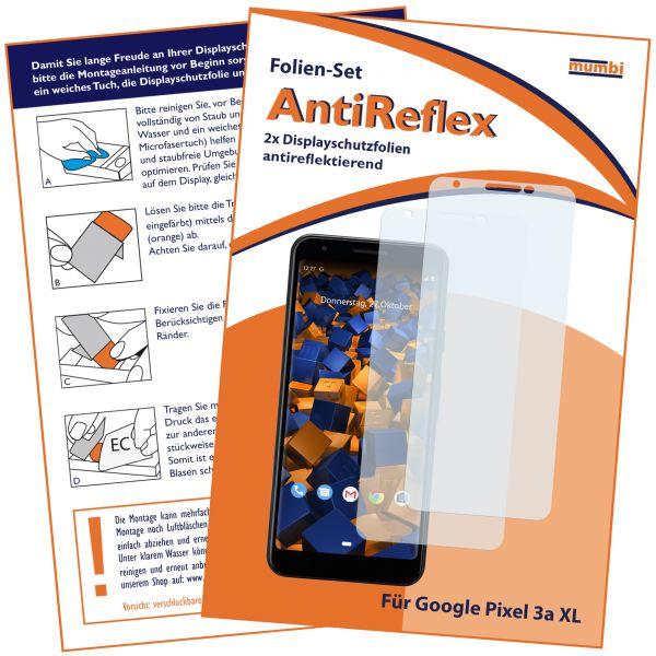 Displayschutzfolie 2 Stck. AntiReflex für Google Pixel 3a XL