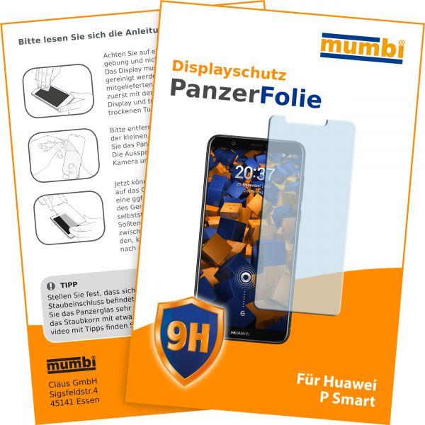 Panzerglasfolie Hartglas 9H für Huawei P Smart