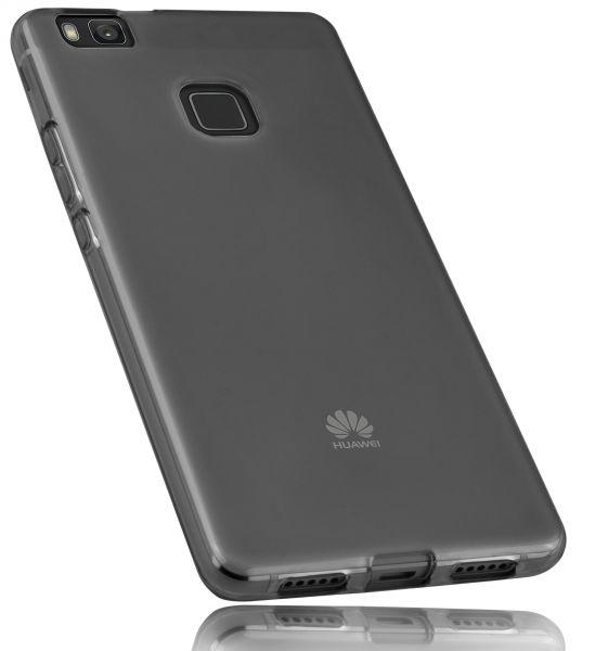 TPU Hülle schwarz transparent für Huawei P9 Lite