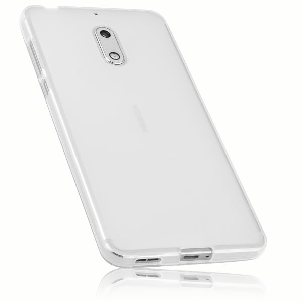 TPU Hülle weiß transparent für Nokia 6 (2017)
