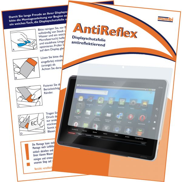 Displayschutzfolie AntiReflex für Samsung Galaxy Tab 10.1