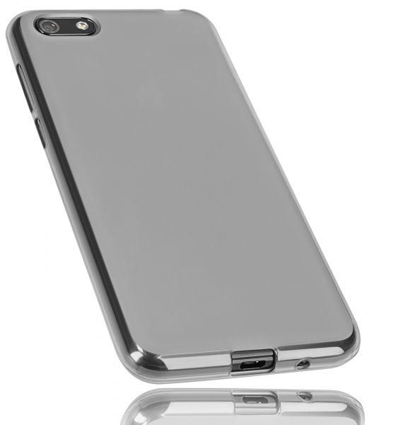 TPU Hülle schwarz transparent für Huawei Y5 (2018)