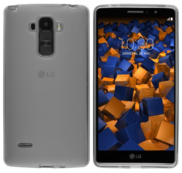 TPU Hülle transparent schwarz für LG G4 Stylus