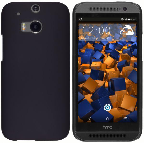 Hard Case Hülle schwarz für HTC One M8 / M8s
