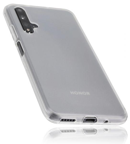 TPU Hülle weiß transparent für Huawei Honor 20