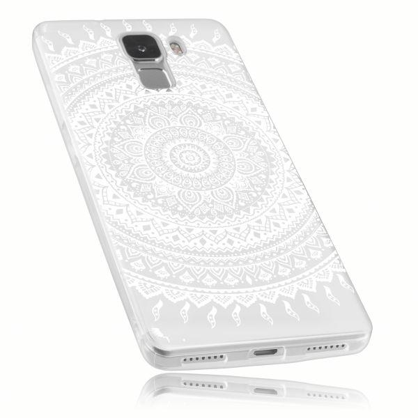 TPU Hülle transparent Motiv Mandala für Huawei Honor 7