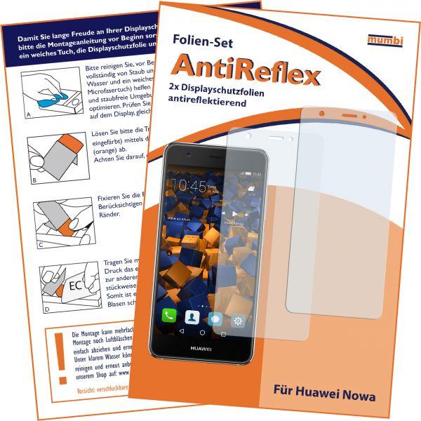 Displayschutzfolie 2 Stck. AntiReflex für Huawei Nova