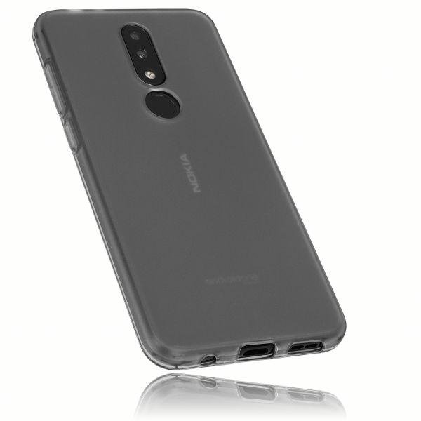 TPU Hülle schwarz transparent für Nokia 5.1 Plus