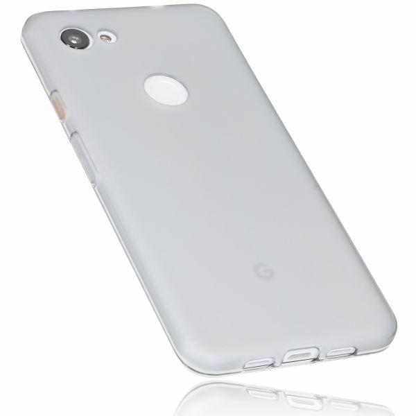 TPU Hülle weiß transparent für Google Pixel 3a XL