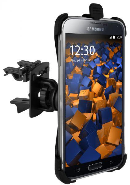 Lüftungsschlitz KFZ Halterung Vent Mount Kugelgelenk für Samsung Galaxy S5 / S5 Neo