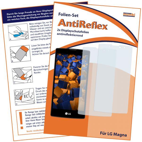 Displayschutzfolie 2 Stck. AntiReflex für LG Magna / G4c