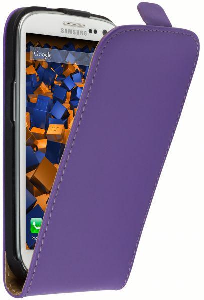 Flip Case Tasche lila für Samsung Galaxy S3 / S3 Neo