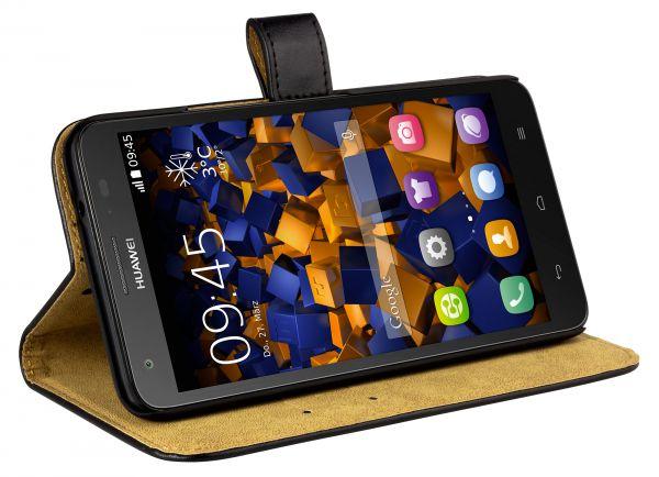 Bookstyle Ledertasche für Huawei Ascend G750
