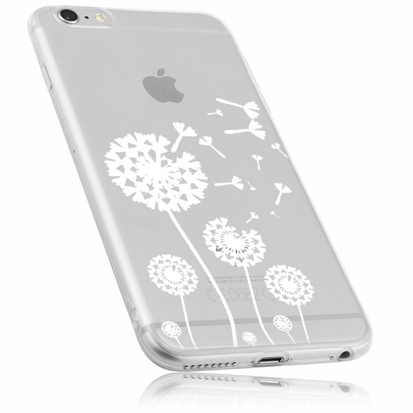 TPU Hülle transparent Motiv Pusteblume für Apple iPhone 6 / 6s