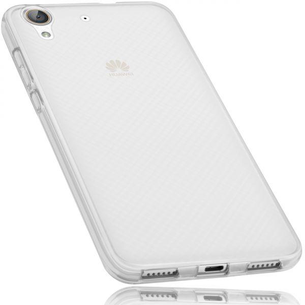 TPU Hülle weiß transparent für Huawei Y6 II
