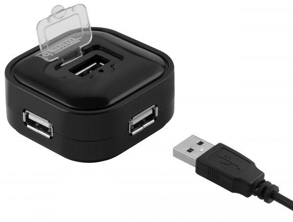 USB 2 / 4 Port HUB Verteiler ohne Netzteil Plug & Play Windows Mac