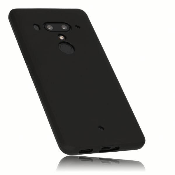 TPU Hülle schwarz für HTC U12 Plus