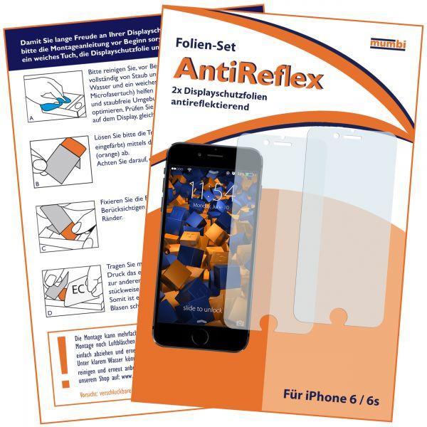 3D Touch Displayschutzfolie 2 Stck. AntiReflex für Apple iPhone 6 / 6s