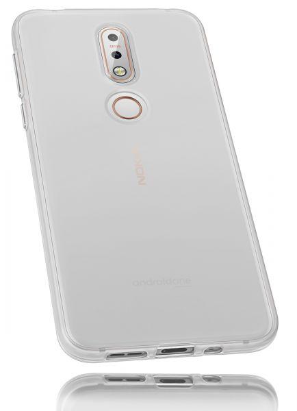 TPU Hülle weiß transparent für Nokia 7.1