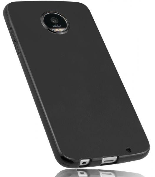 TPU Hülle schwarz für Lenovo Moto Z Play