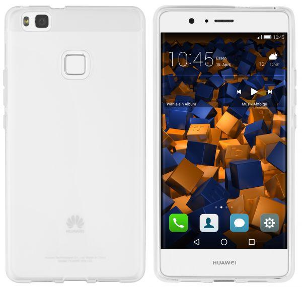 TPU Hülle weiß transparent für Huawei P9 Lite
