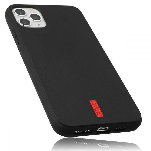 TPU Hülle schwarz mit Logo für Apple iPhone 11 Pro Max