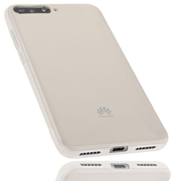 TPU Hülle weiß transparent für Huawei Y6 (2018)