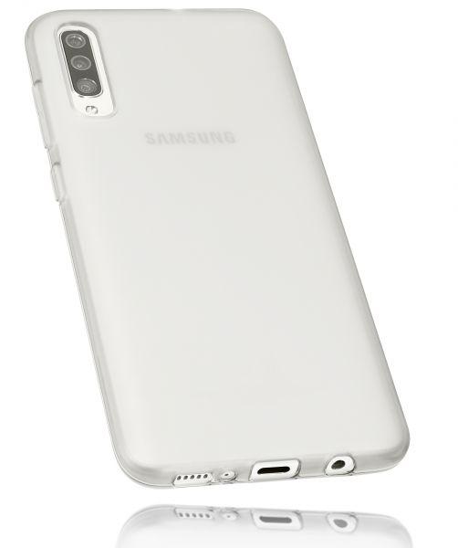 TPU Hülle weiß transparent für Samsung Galaxy A70