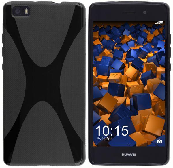 TPU Hülle X-Design schwarz für Huawei P8 Lite (2015)