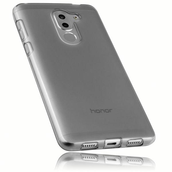 TPU Hülle schwarz transparent für Huawei Honor 6X