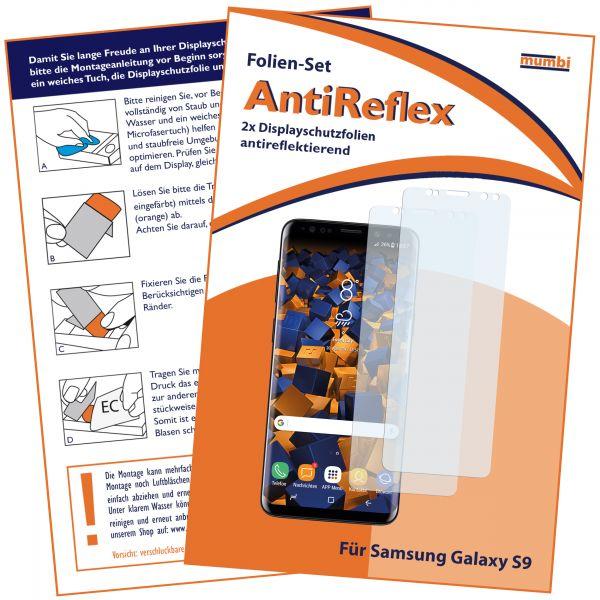 Displayschutzfolie 2 Stck. AntiReflex für Samsung Galaxy S9