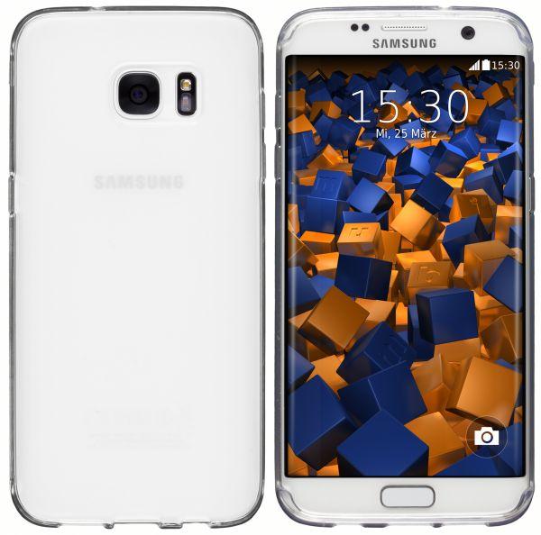 TPU Hülle weiß transparent für Samsung Galaxy S7 Edge
