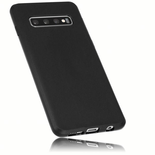 TPU Hülle schwarz für Samsung Galaxy S10