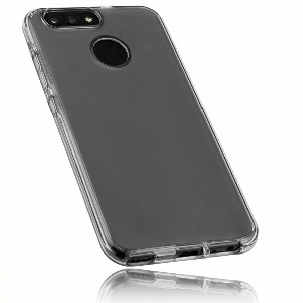 TPU Hülle schwarz transparent für Huawei Nova 2