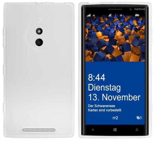 TPU Hülle weiß transparent für Nokia Lumia 830