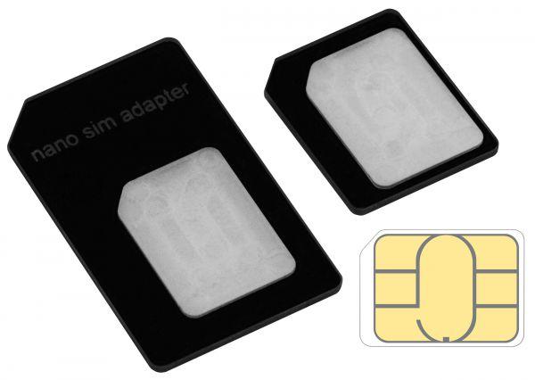 SIM Adapter für Nano / Micro / normale SIM Karte für Apple iPhone SE / 5 / 5s