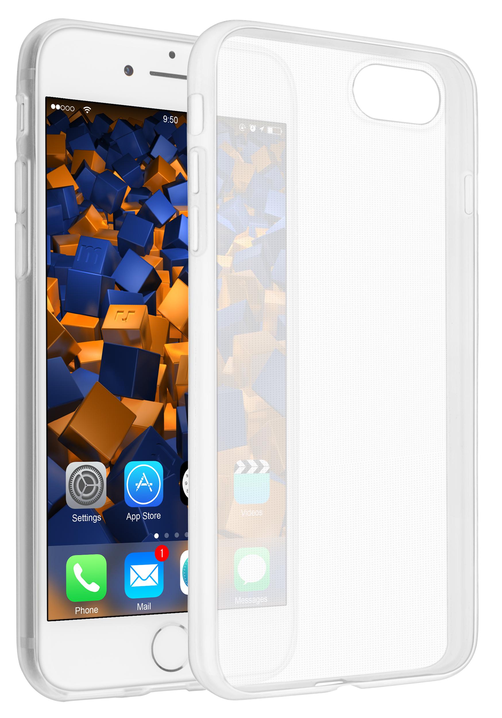 a85e7756561ad9 Vorschau: TPU Hülle Ultra Slim weiß transparent für Apple iPhone 8 / 7 ...
