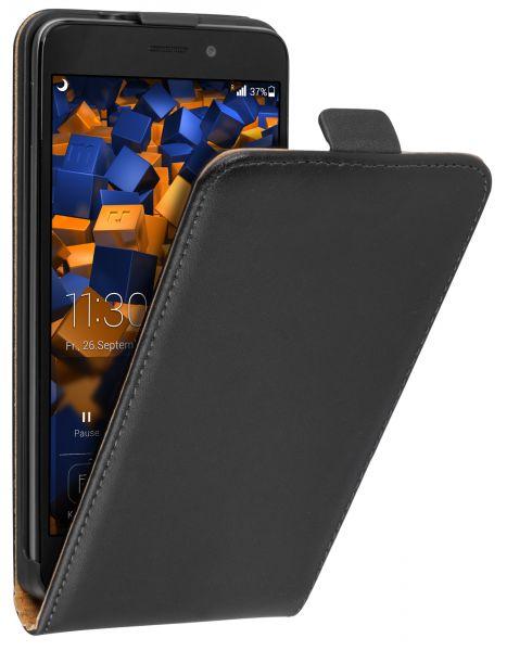 Flip Case Tasche schwarz für Huawei Honor 5C