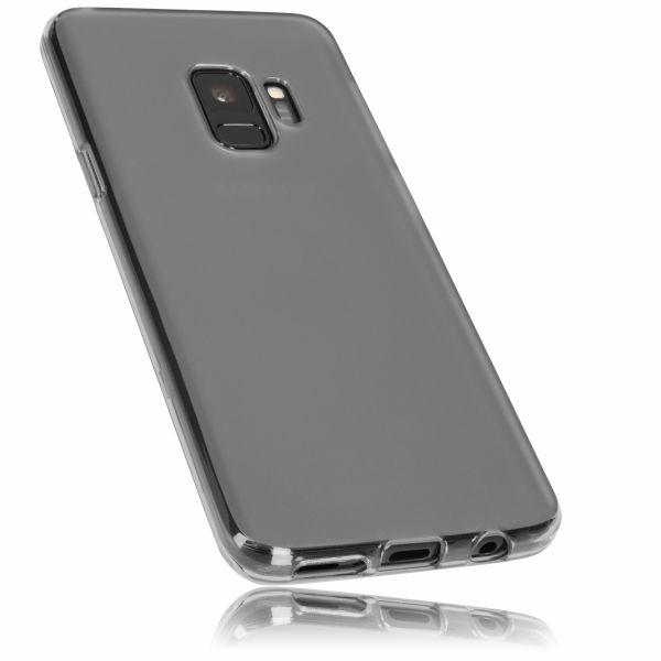 TPU Hülle schwarz transparent für Samsung Galaxy S9