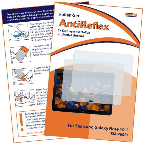 Displayschutzfolie 2 Stck. AntiReflex für Samsung Galaxy Note 10.1 Modell 2014