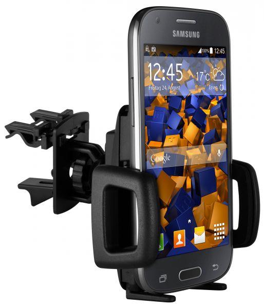 Lüftungsschlitz KFZ Halterung Vent Mount Kugelgelenk für Samsung Galaxy Ace 4
