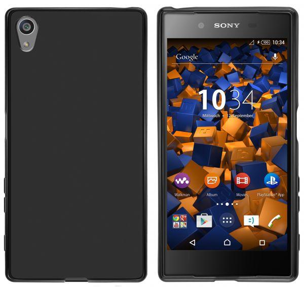 TPU Hülle schwarz für Sony Xperia Z5